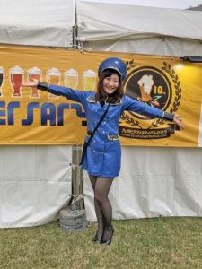 九州オータムフェスティバル参加の大石麻美