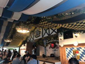 福岡オクトーバーフェスト2019のステージ