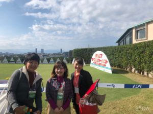 福岡シニアオープンゴルフトーナメントでの Office AYANAメンバースナップ画像