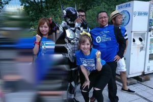 2017飲酒運転撲滅大会参加のはーとふるメンバーの平野綾菜と舟木美純