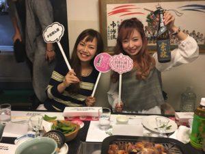 佐賀県女子会推進大使のはーとふるメンバーが女子会中