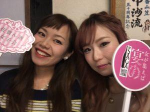 佐賀県女子会推進大使のはーとふるメンバーの平野綾菜と舟木美純