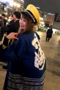 客引き撲滅パレード2019に参加のはーとふるメンバー、舟木美純