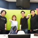 TORYUMON ONLINE 司会の平野綾菜と登壇者